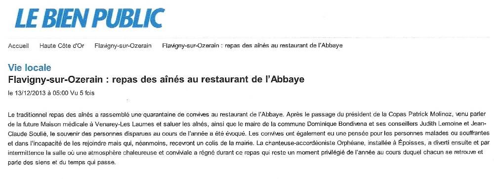 le_bien_public_orpheane_flavigny_sur_ozerain_repas_de_noel